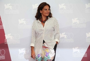 Emma Dante, photo call at Venice 70