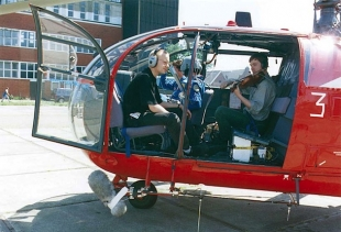 Helicopter String Quartet (photo copyright: Archive of the Stockhausen Foundation for Music, Kuerten)