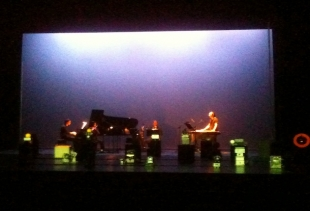Ensemble L'Imaginaire performing Visioni, courtesy picture pr/undercover