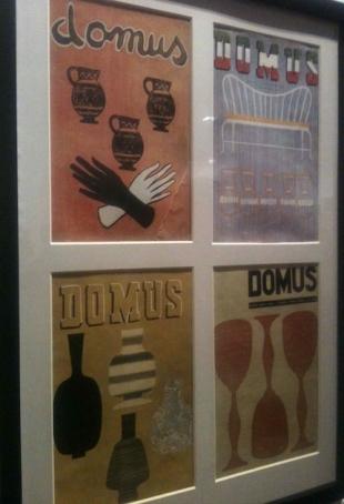 Domus Magazine covers
