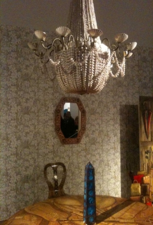 Interiors (the lampshade is made of shell)