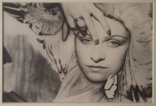 Man Ray, Portrait de Dora Maar - Solarisation, 1936, Collection J-P. Godeaut, Paris,<br /> on show at Palazzo Fortuny