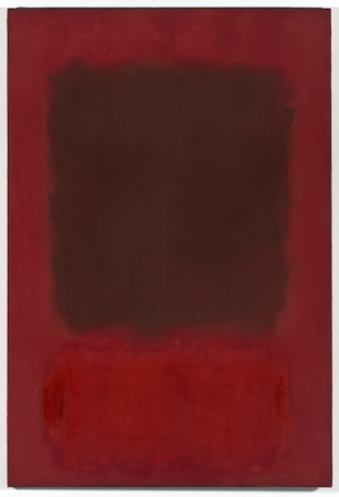 Mark Rothko, Red and Brown, 1957, oil on canvas, 175, 26 x 109,86 x 2,54 cm<br /> Los Angeles, The Museum of Contemporary Art, The Panza Collection, on show at Ca' Pesaro<br />