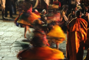 Le Danze rituali del Tibet, on show at Natural History Museum (June 14-August 24) picture by<br /> Giampietro Mattolin<br />