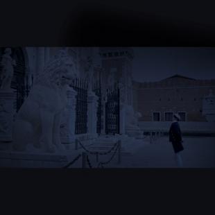 La Gondoliera, Yamaha Hanako and Alex Hai, 50x50 cm, courtesy Jarach Gallery and the artist