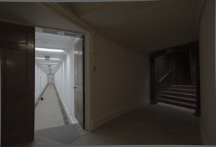 Corridor - Welbeck Abbey, photograph by Hans Werlemann, courtesy la Biennale di Venezia,<br />