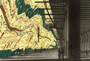 Monditalia – Corderie – Map, courtesy la Biennale di Venezia, copyright Rem Koolhaas