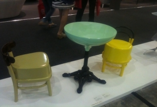 Mutant (table, chairs) by Claudio Colucci - Tokyo Avant-Garde pavilion 6