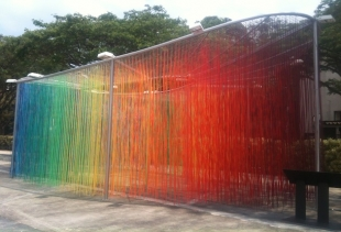 Spectrum by Claudio Colucci, the whole at Dhoby Ghaut Green, courtesy photo pr/undercover