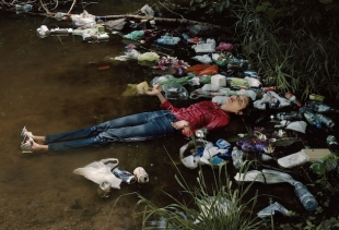 Photo Section: Catherine Balet, Ophelia #1, 90 X 118 cm  2012