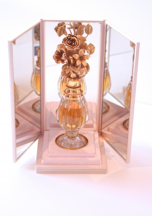 Luxury version of a commercial bottle of perfume, France 1992, limited edition of 50 pieces, <br />