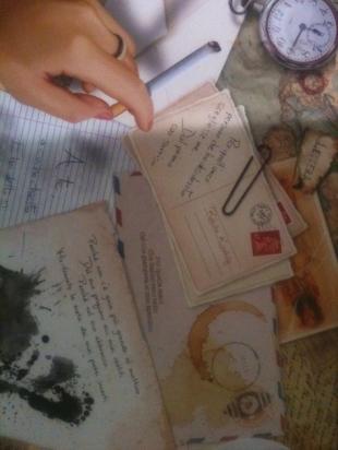 B8N and Rohita Kinskily: Deviazione di Verso, lettera (Paratissima)