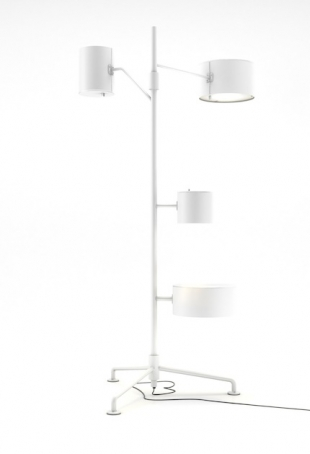 Statistocrat floor lamp (Atelier van Lieshout for MOOOI), courtesy MOOOI