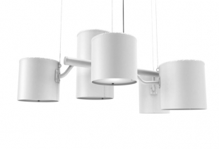 Statistocrat ceiling lamp (Atelier van Lieshout for MOOOI), courtesy MOOOI
