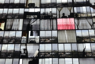 M. Subotzky, P. Warehouse, Windows (Ponte City) detail, at Making Africa (Vitra Museum) (courtesy picture pr/undercover)