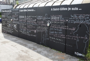 Welcome-to-Saint-Gilles - J'aime St Gilles, photo Pierre Remacle