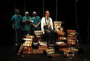 BIENNALE TEATRO 2015:  La Zaranda - El Regimen del pienso