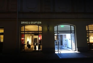 Coelux at B&O store (exterior view)