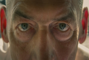 Rem Koolhas' eyes - still from the movie