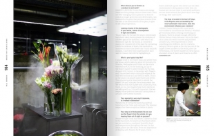 Flower artist Azuma Makoto reveals the spiritual aspect of working with plants in his interview.