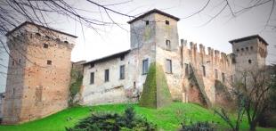 Castello di Romano (Romano di Lombardia, Lombardy)
