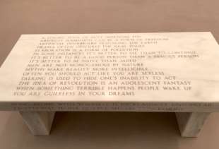Jenny Holzer at Frieze,  ph. courtesy pr/undercover