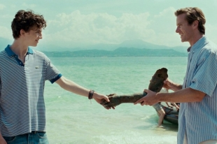 A scene of the movie Call Me by Your Name, director Luca Guadagnino