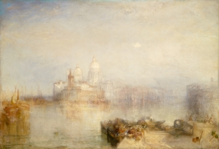 J.M. William Turner, Punta della Dogana and Santa Maria della Salute, courtesy The National Gallery of Washington