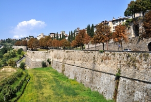 Bergamo fenced city, Unesco World Heritage 2017, Lombardy