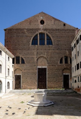 San Lorenzo Church, Venice, next home of a TBA21 branch and its Ocean Space
