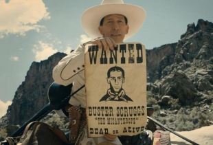 A still from the movie The Ballad of Buster Scruggs (Cohen Brothers)