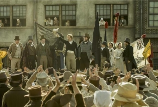 A still from the movie Peterloo by Mike Leigh