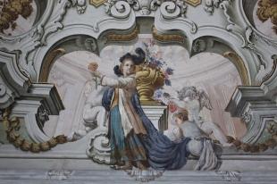 Palazzo Butera: Affresco Gioacchino Martorana e Gaspare Fumagalli
