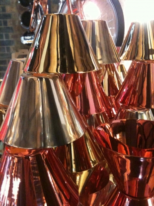 Tom Dixon, copper glasses