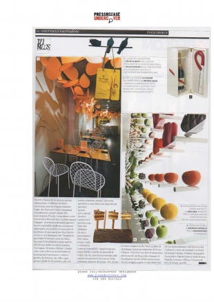postoristoro of up/market quoted on Interni Magazine, June 2012