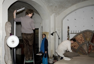 Making of / courtesy Tatiana Uzlova