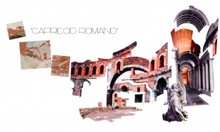 Capriccio Romano (boceto), Autor Miralles Tagliabue EMBT