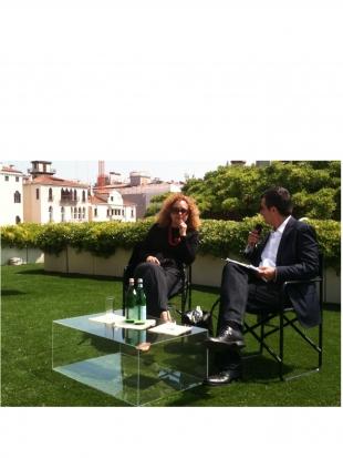 A moment of the talk, photo courtesy pr/undercover by Arturo G. Bandini