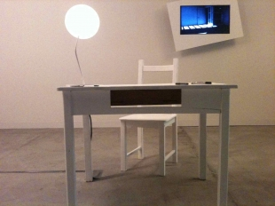 Lightzeit, W Hotels Award, by Markus Kaiser (GER/UK) - the light dimmer is the light on the table