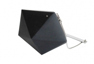 Meteorite Bag (colour black Euro 85 to the public), courtesy image serenagaldo