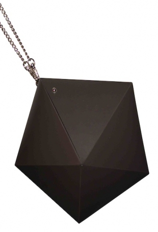 Meteorite Bag (colour brown/coffee Euro 105 to the public), courtesy image serenagaldo
