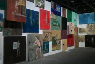 Ragnar Kjartansson, The End, Venezia – 144 paintings (Luhring Augustine), courtesy photo pr/undercover