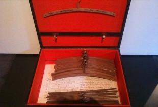 Giacomo Balla, Futurist Waistcoat (1924), Fondazione Biagiotti Cignia (Guidonia,) photo pr/undercover, seen at Fondazione Prada, Small Utopia Ars Multiplicata