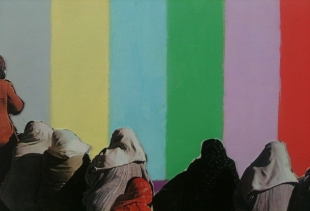 Seminars in Kabul, Oberste Gasse 4, Afghani painting, courtesy photo pr/undercover