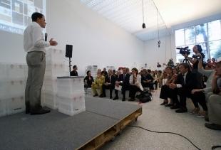 Ole Bouman speaking at Archipoenix Copyright Tutti i diritti riservati a ana.dzokic