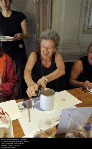 Franca Coin and Mistery food, courtesy Fondazione Prada