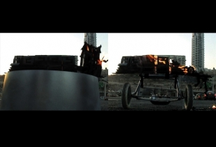 Orr Menirom, 1985 Tel Aviv living in Chicago. Sunset and a tower (2010, Video 05')<br />