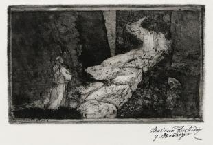 Mariano Fortuny y Madrazo (1871-1949), Parsifal - Cammino del Gral - courtesy Palazzo Fortuny