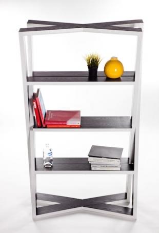 SuperKross bookcase, by Kelvin Teo