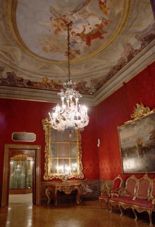 Interno del museo Palazzo Mocenigo - Interiors of Palazzo Mocenigo